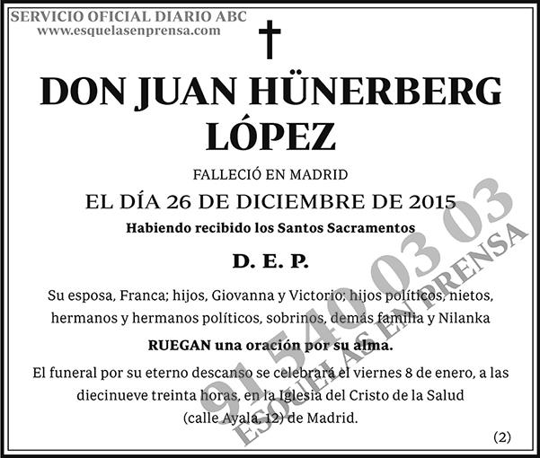 Juan Hünerberg López